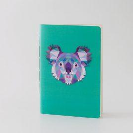 Libreta Koala Geométrico