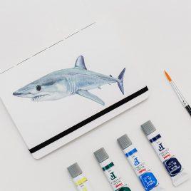 Libreta Sol de Mar – Tiburon Mako